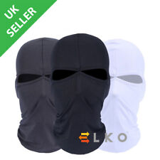 ELKO® Balaclava Black Face Mask Under Helmet Winter Warm Army Style Neck Warmer