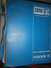 Same VIGNERON 45 1980 : catalogue de pièces