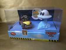 Disney Cars Toon Unidentified Flying Mater Alien Diecast UFM LightUp Toy Set New