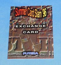 1996 Futera Trading card Summer Slam 96 Exchange Card Sports Cricket Near Mint