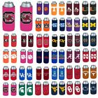 NCAA Teams - 2 Pack Ultra Slim Can Holder - Skinny Koozie