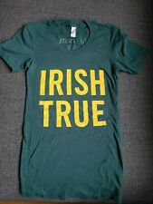 Tullamore Dew IRISH TRUE Irish Whiskey Whisky American Apparel T Shirt Patrick's