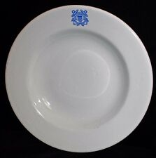Rare 1939 Dated US Coast Guard Soup Bowl by Jackson China