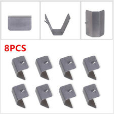Wind/Rain Deflector Channel Metal Retaining Clips For Heko G3 SNED Clip X8 Valid