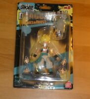 DRAGON BALL Z KAI SHODO RARE NEO #4 GOTENKS & GHOST ACTION FIGURE BANDAI 2016