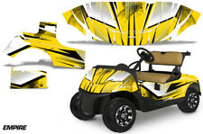 Golf Cart Graphics Kit Decal Sticker Wrap For EZ-Go TXT 2014-2018 EMPIRE YELLOW