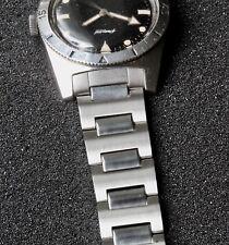 NOS 1960s SS vintage divers dive watch bracelet for deep 19mm flat lugs 3 sold