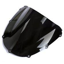 Negro Doble Burbuja Parabrisas Parabrisas para Honda CBR900/954RR 2002-2003