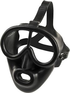 Full Face Mask for Commercial Scuba Diving, Low Volume Gear with Octo Attachment
