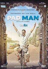 PAD MAN / PADMAN - AKSHAY KUMAR - 2018 BOLLYWOOD MOVIE DVD / REGION FREE / SUBTI