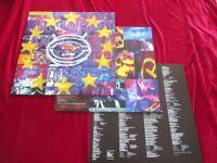 U2 Zooropa EUROPE ISLAND 1993 Orig. INSERT OIS  Vinyl/Cover:Mint(-) Topcopy
