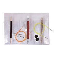 Knitpro Set austauschbare Rundstricknadeln Comby II 3,4,5mm in Vinyltasche 20634