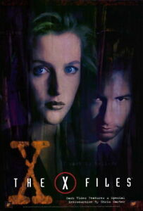 66469 The X-Files David Duchovny, Gillian Anderson Wall Print POSTER UK