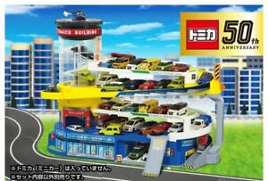 TAKARA TOMY TOMICA World Double Action Tomica Car park Building 50th ANNIV ver.
