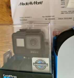 GoPro HERO 7 Black Hypersmooth 4K60 12MP + Adventure Zubehörpaket OVP wie Neu!