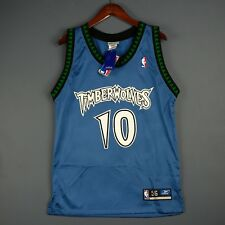 100% Authentic Wally Szczerbiak Vintage Reebok Wolves Jersey Size 42 M L Mens