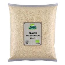 Organic Sesame Seeds Hulled 25kg Certified Organic