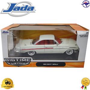 Diecast Model Car 1:24 1961 Chevy Impala Jada 96867 Dodge Ford Licensed SRT