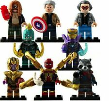 Avengers Minifigures 250 Marvel DC Infinity Game Super Heroes fits Lego block