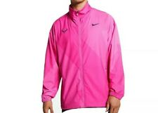 Nike Court Rafa Full Zip Fuchsia Tennis Jacket AJ8257-686 Men sz M Rafael Nadal