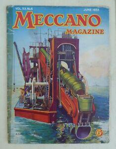 Meccano Magazines:  June 1935