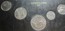 1970 Canada Year Set (6 Coins Cent to Nickel Dollar) UNC