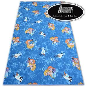 Carpet Disney Frozen Blue Elsa Width 200, 400 CM Carpet Floor for Kids