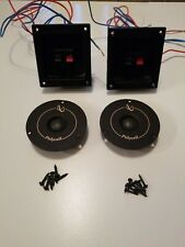 Infinity RS-425 Polycell Tweeter 902-6318 & Crossovers & Screw Tested Excellent