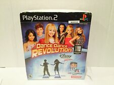 Dance Dance Revolution Disney Channel Edition Bundle PlayStation 2,PS2 Brand New