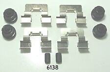 Better Brake Parts 6138 Rear Disc Brake Hardware Kit