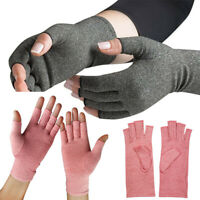 2Pcs Anti Arthritis Compression Therapy Mittens Gloves Daily Care Warm Unisex