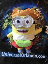 "Universal Orlando Despicable Me 3 Tourist Jerry Minion 12"" Plush Brand New"