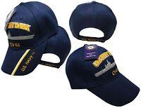US Navy USS Kitty Hawk CV-63 Battleship Blue Embroidered Cap Hat CAP550L (TOPW)