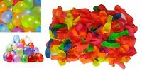 300 Water Balloons Bombs Multi Colour Kids Summer Party Fun Toys Bag Fillers New