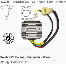 REGOLATORE HONDA ES 750 XRV Africa Twin (RD04/RD07) 90/91 12V-CC-8CAVI = SH538A