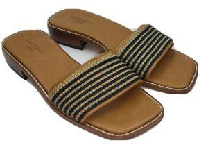 Eric Javits NY Womens 9 M Fashion Sandals Slides Flip Flops Shoes #SB