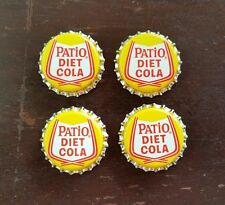 Vintage Pepsi Cola Patio Diet Cola Cork Lined Bottle Caps Lot