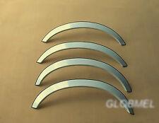 MERCEDES W126 80-93 saloon coupe wheel arches fender trims chrome, ca