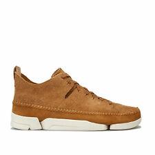 Clarks Originals Chaussures Trigenic Flex Brun Roux Homme