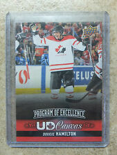 13-14 UD POE Program of Excellence Canvas Rookie RC DOUGIE HAMILTON SP #C270