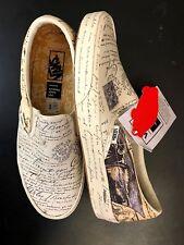 Vans x Van Gogh Classic Slip-on Letter Men's US size 6.5, Women's US size 8