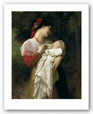 Mother and Child William Adolphe Bouguereau Art Print 18x24