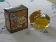 """Collectible Avon Bottle- """"Curious Kitty"""" - Full in Orig. Box"""