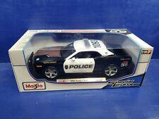 "Maisto 2006 Dodge Challenger Concept ""Police"" 1/18 scale NIB  2019 release"