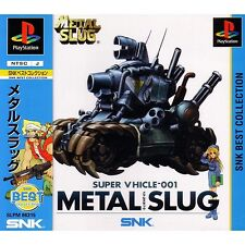 Used PS ONE NEO GEO SNK METAL SLUG  PS 1 SONY PLAYSTATION JAPAN IMPORT