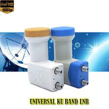 Universal Ku Band Twin LNB 0.1db Full Hd Digital High Gain Low Noise Satellite