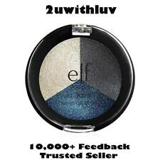 ELF E.L.F. MAKEUP BAKED EYESHADOW TRIO SMOKY SEA #81294