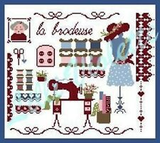 10% Off Lilli Violette Counted X-stitch Chart - La brodeuse