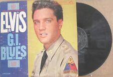 ELVIS PRESLEY, GI BLUES - MONO LONG PLAY LABEL LP