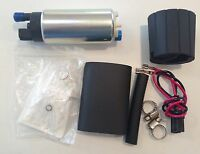 Universal GSS341 255LPH Style Fuel Pump + fitting kit XR6 LS1 Turbo WRX Skyline